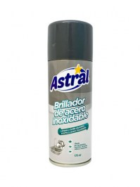 Brillador de acero inoxidable Astral 175cc